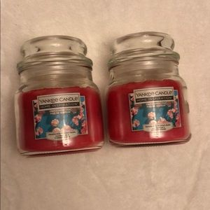 (2) Yankee Candle Simple Sweet Pea-Offer/Bundle